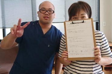 病院でレントゲンでは異常がないと言われた膝の痛みが骨盤矯正で改善しました!